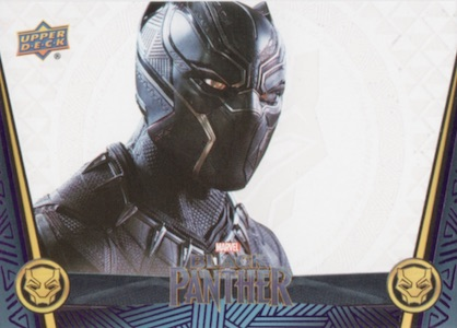 2018 Upper Deck Black Panther Movie Trading Cards 24