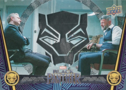 2018 Upper Deck Black Panther Movie Trading Cards 3