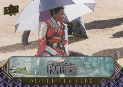 2018 Upper Deck Black Panther Movie Trading Cards 4