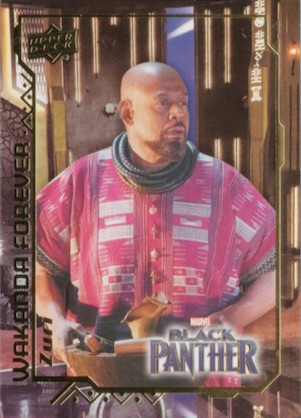 2018 Upper Deck Black Panther Movie Trading Cards 32