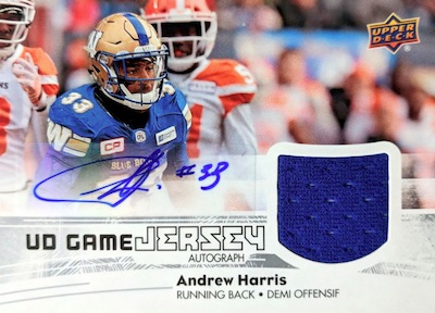 2018 Upper Deck CFL Football Cards 5