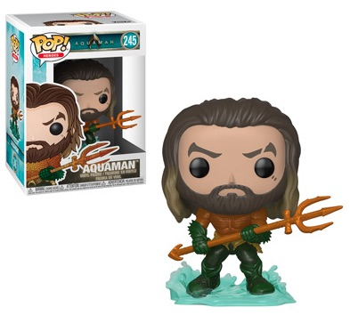 Funko Pop Aquaman Movie Vinyl Figures 5