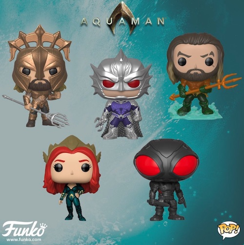 Funko Pop Aquaman Movie Vinyl Figures 1
