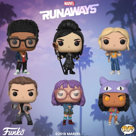 Funko Pop Runaways Vinyl Figures 1