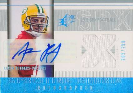 Top 15 Aaron Rodgers Rookie Cards 10