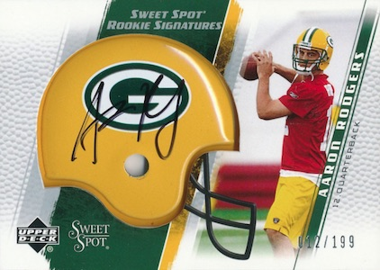 Top 15 Aaron Rodgers Rookie Cards 5