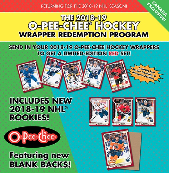 2018-19 O-Pee-Chee Hockey Cards 9