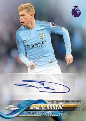2018-19 Topps Chrome Premier League Soccer Cards 7