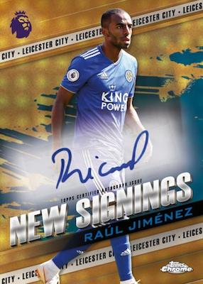 2018-19 Topps Chrome Premier League Soccer Cards 8