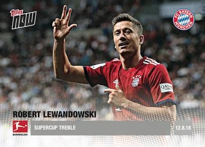 2018-19 Topps Now Bundesliga Soccer Cards 2