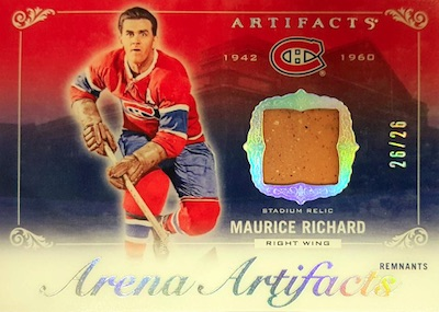2018-19 Upper Deck Artifacts Hockey Cards 35