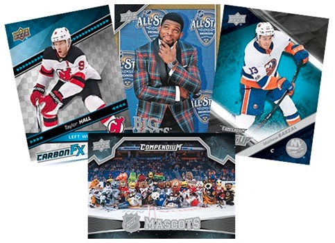 2018-19 Upper Deck Compendium Hockey Cards - Series 2 Checklist Added 2