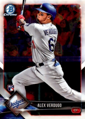 2018 Bowman Chrome Baseball Variations Guide 17
