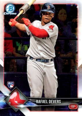 2018 Bowman Chrome Baseball Variations Guide 4