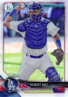 2018 Bowman High Tek Baseball Cards 29