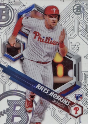 2018 Bowman High Tek Baseball Cards 36