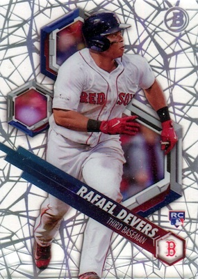 2018 Bowman High Tek Baseball Cards 38