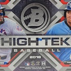 2018 Bowman High Tek Baseball Cards