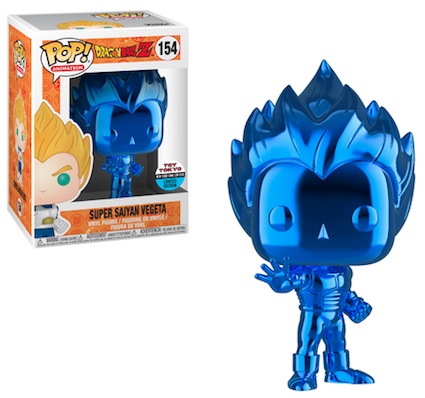 Blue Goku Blue Vegeta Exclusive Pop Dragon Ball Z Super Saiyan Hot New Toy 2017