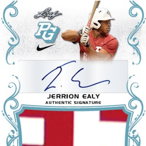 2018 Leaf Perfect Game National Showcase Checklist, Boxes, Info, Date