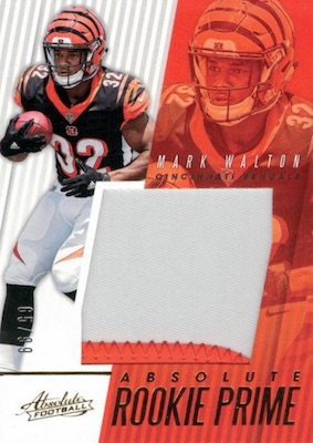 2018 Panini Absolute Football Cards 32