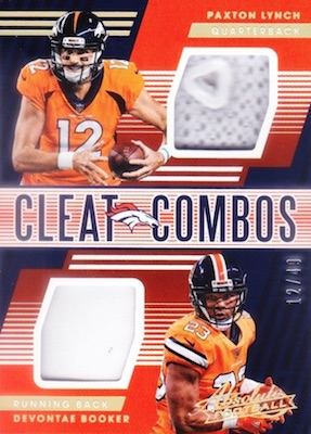 2018 Panini Absolute Football Cards 34
