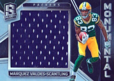2018 Panini Spectra Football Cards 36