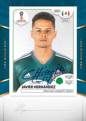 2018-19 Panini Treble Soccer Cards 6