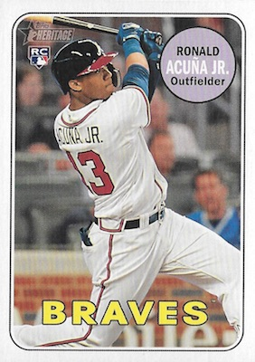 Ronald Acuna Jr. Rookie Cards Checklist and Gallery 39