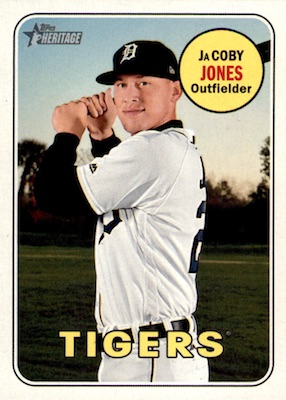 2018 Topps Heritage High Number Baseball Variations Guide 154