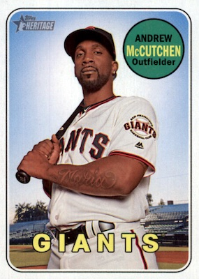 2018 Topps Heritage High Number Baseball Variations Guide 8