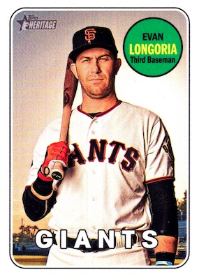 2018 Topps Heritage High Number Baseball Variations Guide 256