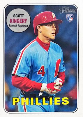 2018 Topps Heritage High Number Baseball Variations Guide 45