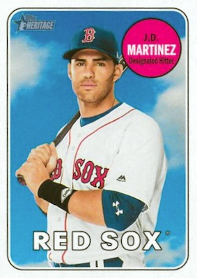 2018 Topps Heritage High Number Baseball Variations Guide 238