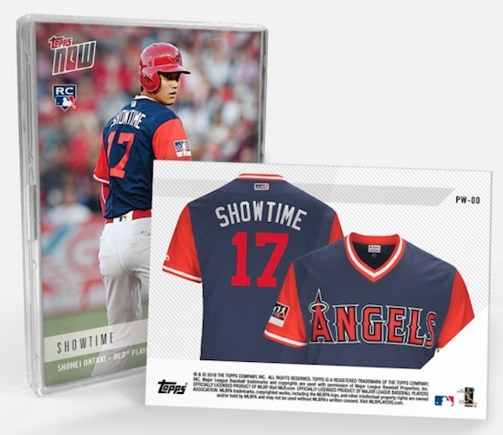 bc59a601a21 2018 Topps Now MLB Players Weekend Baseball Cards - Jersey Relics 1