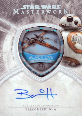 2018 Topps Star Wars Masterwork Trading Cards 6
