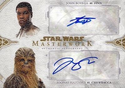2018 Topps Star Wars Masterwork Trading Cards 5
