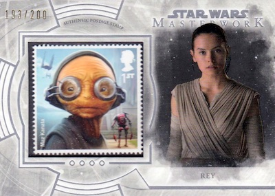 2018 Topps Star Wars Masterwork Trading Cards 34