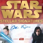 2018 Topps Star Wars Stellar Signatures Trading Cards