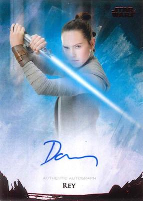 2018 Topps Star Wars Stellar Signatures Trading Cards 1