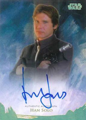 2018 Topps Star Wars Stellar Signatures Trading Cards 2