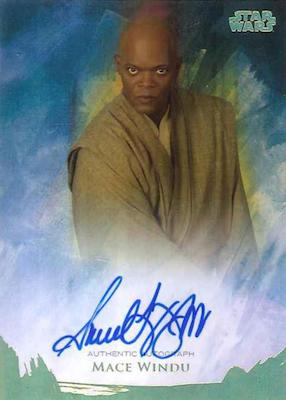 2018 Topps Star Wars Stellar Signatures Trading Cards 5