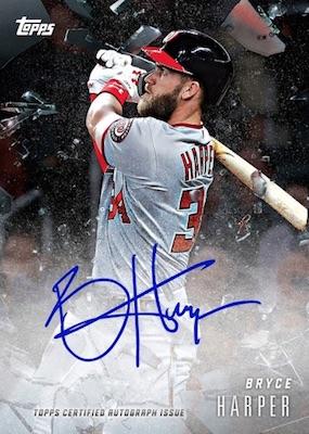 2018 Topps X Bryce Harper 220 Baseball Cards 3