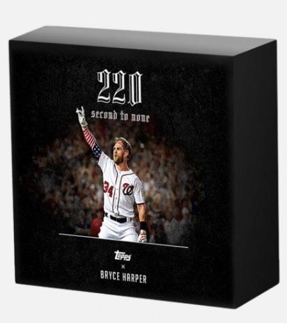 2018 Topps X Bryce Harper 220 Baseball Cards 1