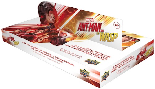 2018 Upper Deck Ant-Man and the Wasp Trading Cards 3