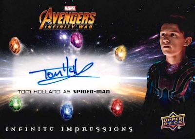 2018 Upper Deck Avengers Infinity War Trading Cards 3