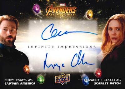2018 Upper Deck Avengers Infinity War Trading Cards 5