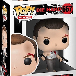 John McClane Collectable Vinyl Figure #667 Funko Die Hard Pop