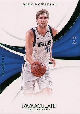2017-18 Panini Immaculate Collection Basketball