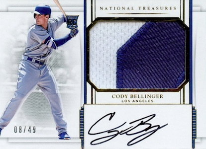 Top Cody Bellinger Rookie Cards and Key Prospect Cards 8